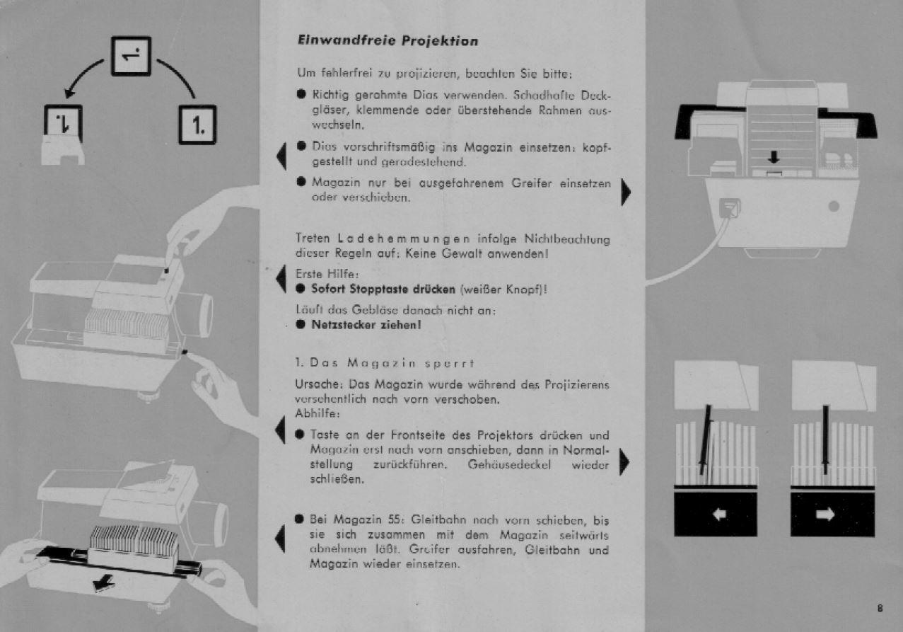 Rollei P 3801-P3801IR en el manual de uso práctico libro de instrucciones Genuino Original