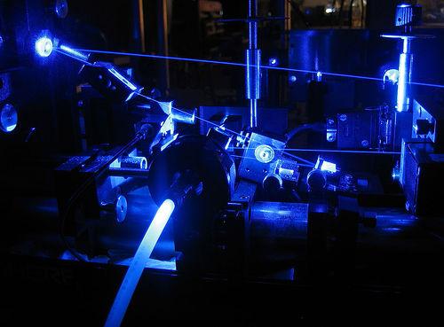 Dye Laser Blue